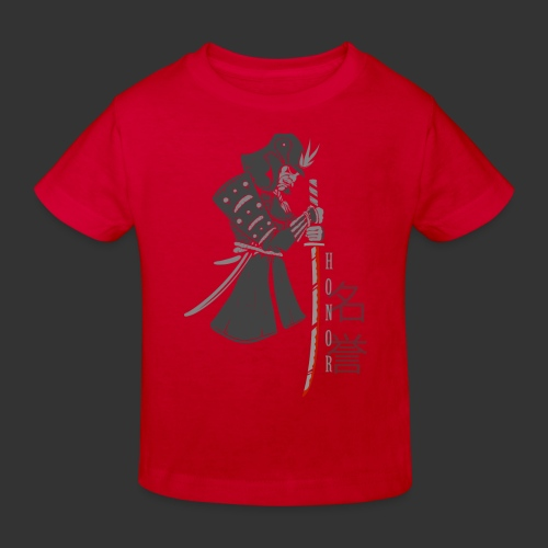 Samurai Digital Print - Kids' Organic T-Shirt