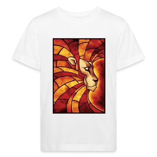 Lion of Judah Mosaik - Kinder Bio-T-Shirt