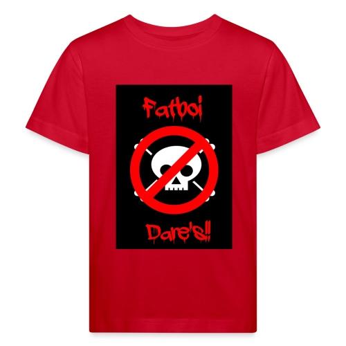 Fatboi Dares's logo - Kids' Organic T-Shirt