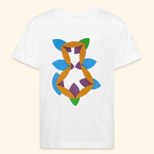 oranjeblanjebleu - Kinderen Bio-T-shirt