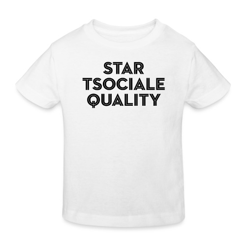 Start Social Equality - Kids' Organic T-Shirt