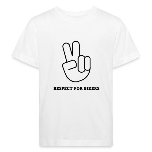 RESPECT FOR BIKERS - Maglietta ecologica per bambini