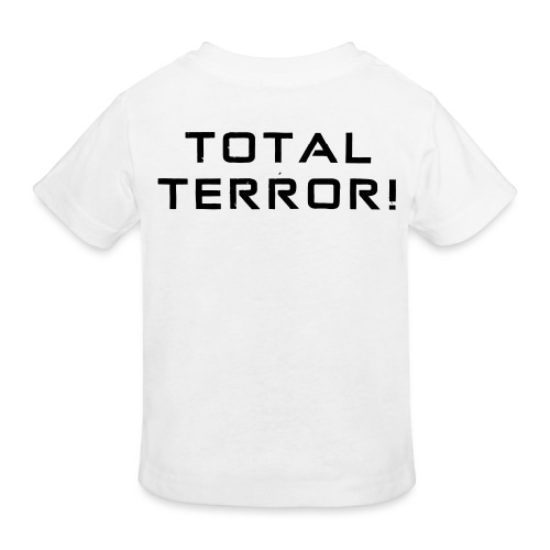 Black Negant logo + TOTAL TERROR! - Organic børne shirt