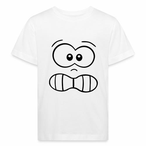 Gesicht - Kinder Bio-T-Shirt