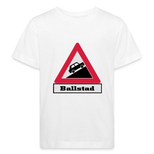 brattv ballstad a png - Økologisk T-skjorte for barn