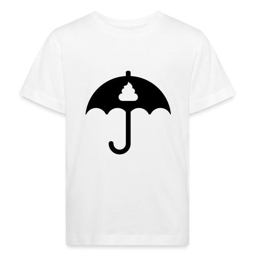 Shit icon Black png - Kids' Organic T-Shirt