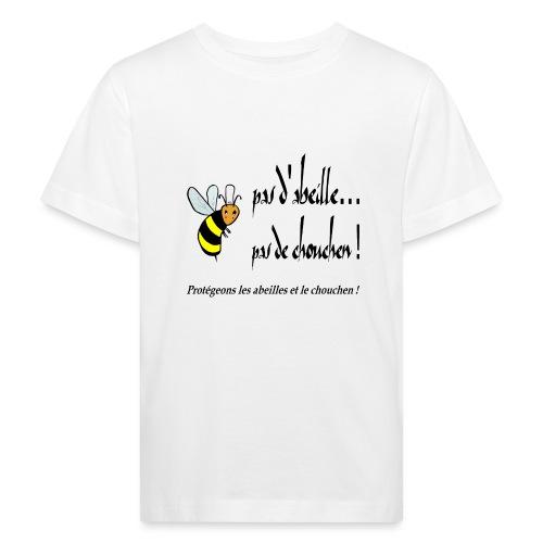 Pas d'abeille, pas de chouchen - T-shirt bio Enfant