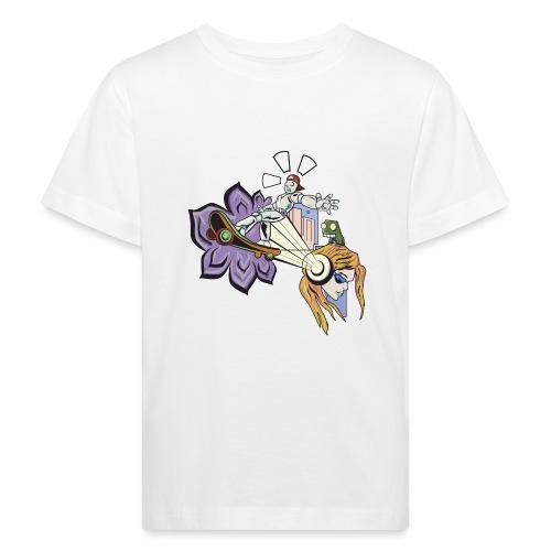 Spring Doodle - Kinderen Bio-T-shirt