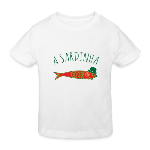 A Sardinha - Bandeira - T-shirt bio Enfant