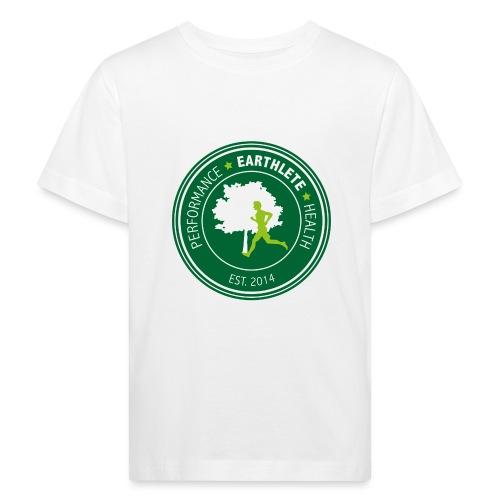 EARTHLETE Brand Logo - Organic børne shirt
