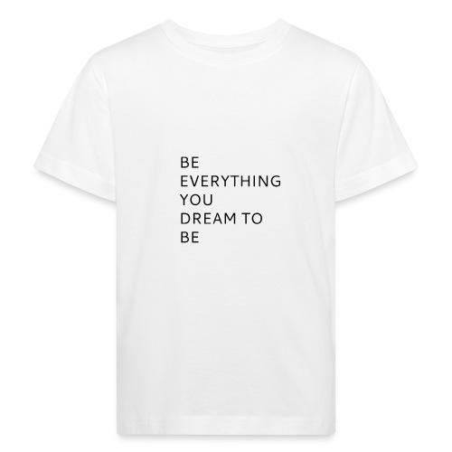 Dreamer - Lasten luonnonmukainen t-paita