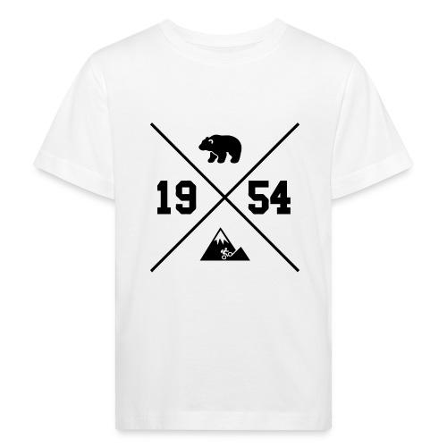 Karhuvuori -baseballhuppari - Lasten luonnonmukainen t-paita