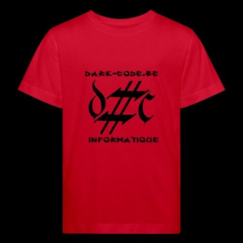 Dark-Code Black Gothic Logo - T-shirt bio Enfant