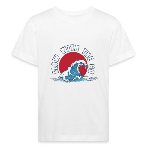 flow with the go - Ekologiczna koszulka dziecięca