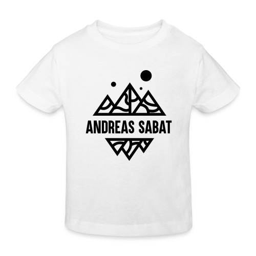 sabat logo black - Organic børne shirt
