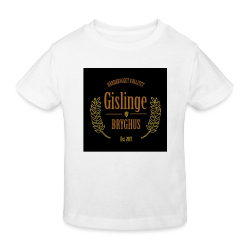 Sort logo 2017 - Organic børne shirt