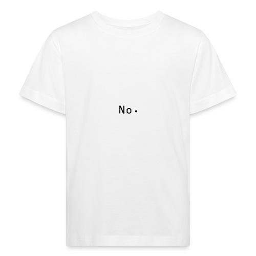 No - Økologisk T-skjorte for barn