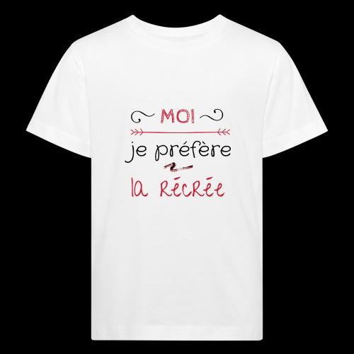 Tee-shirt rentrée des classes - T-shirt bio Enfant