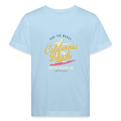 Ride the Waves - Kinder Bio-T-Shirt