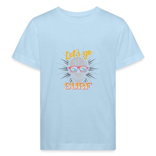 Surf till Death - Kinder Bio-T-Shirt