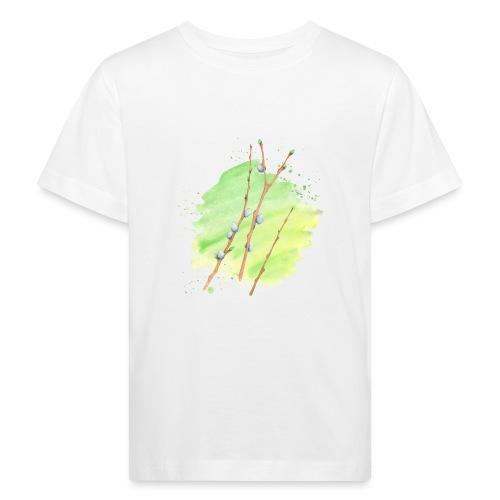 Weidenkätzchen - Kinder Bio-T-Shirt