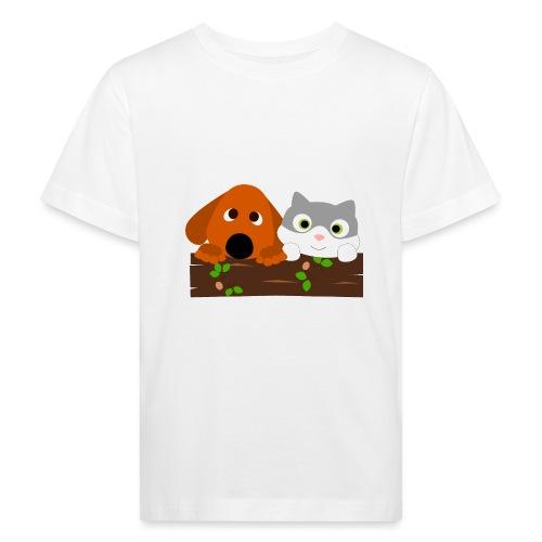 Hund & Katz - Kinder Bio-T-Shirt