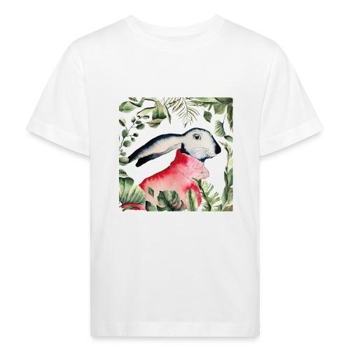 Osterhase im Dschungel - Kinder Bio-T-Shirt