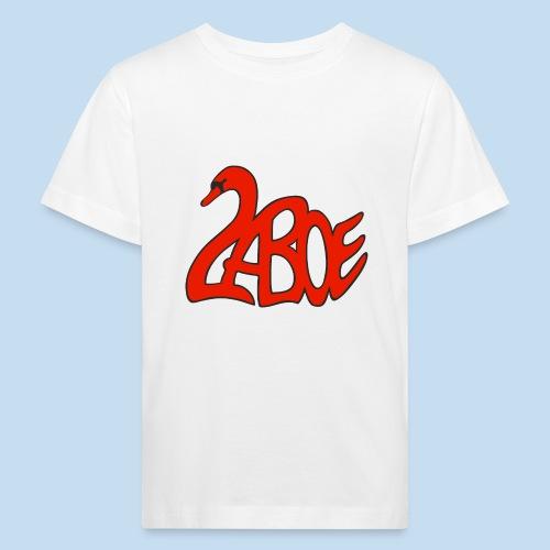 Laboe Schwan rot - Kinder Bio-T-Shirt