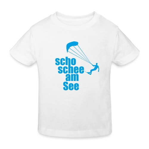 scho schee am See Surfer 01 kite surfer - Kinder Bio-T-Shirt