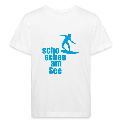 scho schee am See Surfer 04 - Kinder Bio-T-Shirt