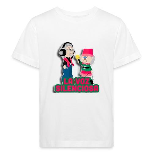 La voz silenciosa - Jose y Arpelio - Camiseta ecológica niño