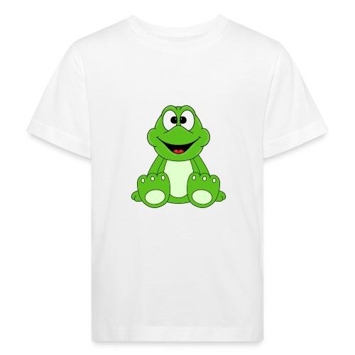 FROSCH - FROG - TIER - KIND - BABY - FUN - Kinder Bio-T-Shirt