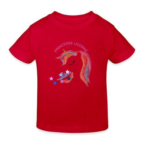 Princesse licorne - T-shirt bio Enfant