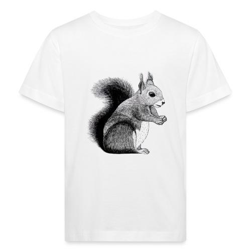 Eichhörnchen Tier Süß Bild Kinder Wald - Kinder Bio-T-Shirt