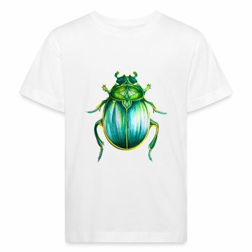 Skarabäus Lineart - Kinder Bio-T-Shirt