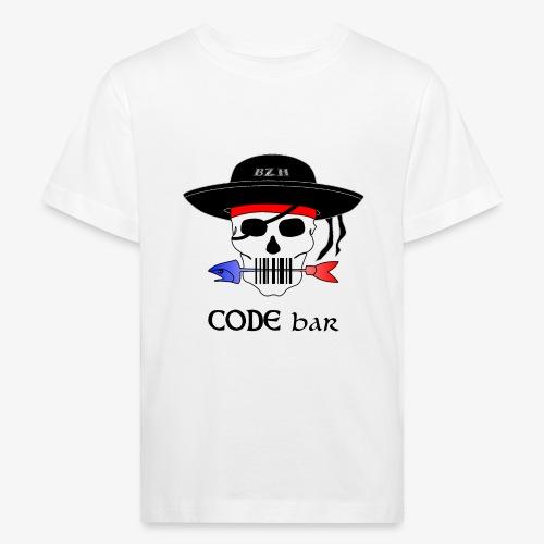 Code Bar couleur - T-shirt bio Enfant