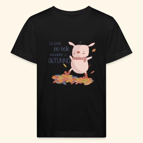 Autumn - Kids' Organic T-Shirt