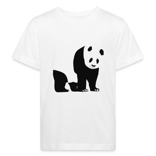 Panda - Lasten luonnonmukainen t-paita