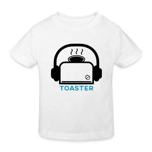 Toaster Logo - Lasten luonnonmukainen t-paita