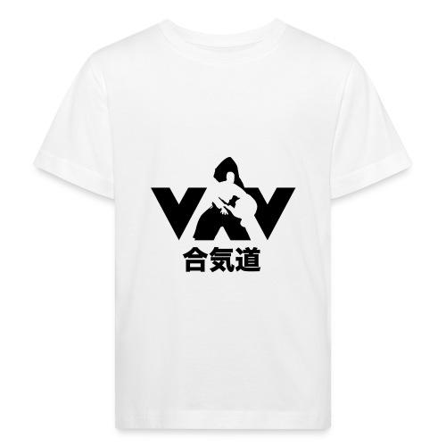 aikido zwart - Kinderen Bio-T-shirt
