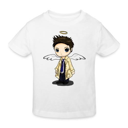 Team Castiel (dark) - Kids' Organic T-Shirt