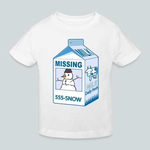 Missing : snowman - T-shirt bio Enfant