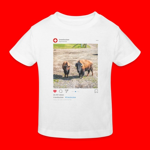 travelsuisse - Bueffel Vaduz 2 - Kinder Bio-T-Shirt
