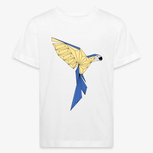Papagei geometrisch - Kinder Bio-T-Shirt