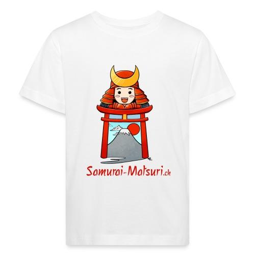Samurai Matsuri Torii - Kinder Bio-T-Shirt