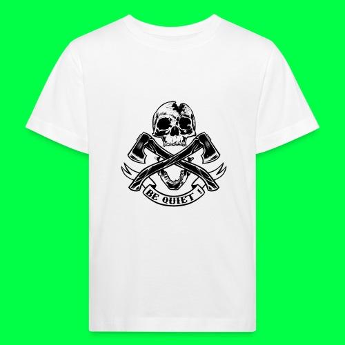 BE QUIET - T-shirt bio Enfant