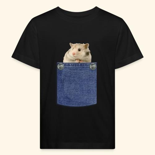 hamster in the poket - Maglietta ecologica per bambini