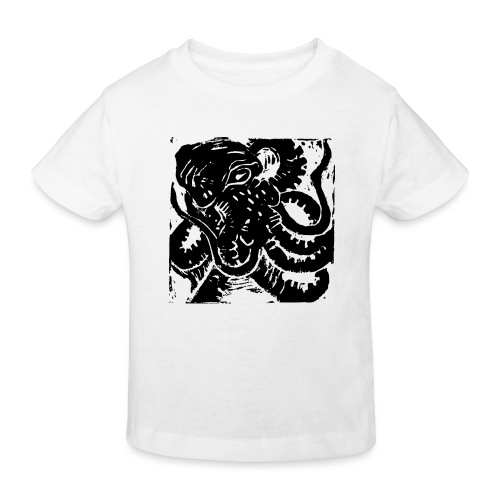 Museum Collection Octopus - Kids' Organic T-Shirt