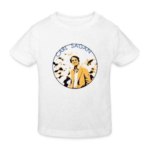 Vintage Carl Sagan - Kids' Organic T-Shirt
