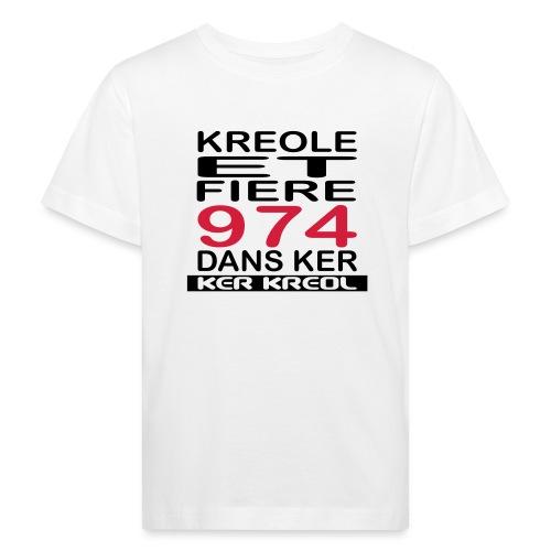 Kreole et Fiere - 974 ker kreol - T-shirt bio Enfant